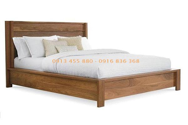 Giường ngủ gỗ tự nhiên đẹp rẻ nhất Hà Nội - Giá bán chưa đến 3tr7 chiếc giường gỗ, chỉ áp dụng nội thành Hà Nội