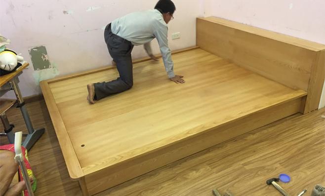 Giường ngủ gỗ sồi Nga tại Việt Trì giá tại xưởng