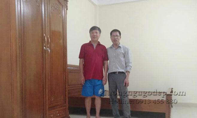 30 mẫu giường ngủ gỗ gụ ở Việt Trì - giá tại xưởng