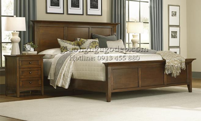 15+ mẫu giường gỗ đẹp nhất theo kích thước lỗ ban phong thủy