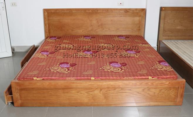 Xưởng sản xuất mẫu giường ngủ đẹp có ngăn kéo uy tín, chất lượng, giá xưởng