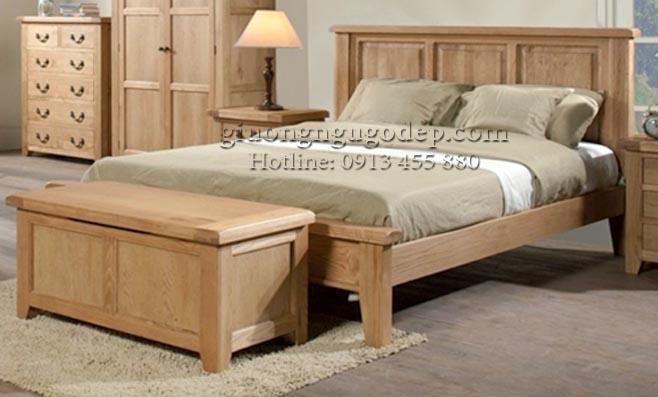 Xu hướng sử dụng mẫu giường gỗ đẹp đơn giản 2020 đang lên ngôi