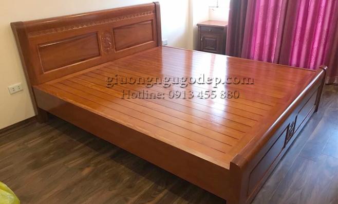 Các mẫu giường gỗ đẹp 2020 nhìn là mê – giá phải chăng nhất thị trường