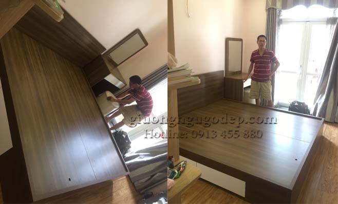 Giường ngủ ngăn kéo- MSP79