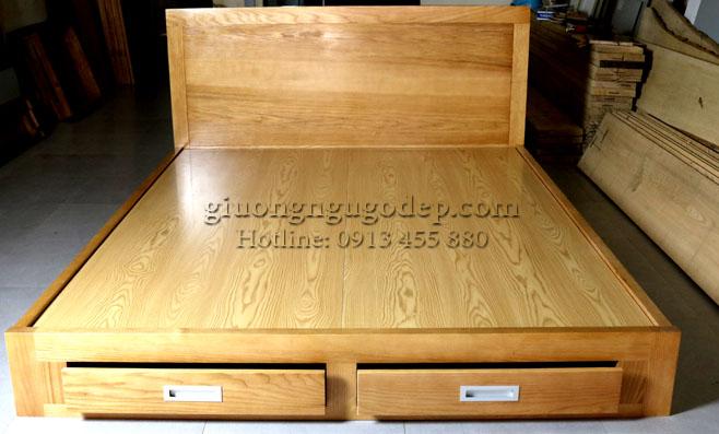 Giường ngủ gỗ - MSP 298