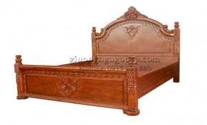 Giường ngủ cổ điển phong cách Châu Âu - GN003