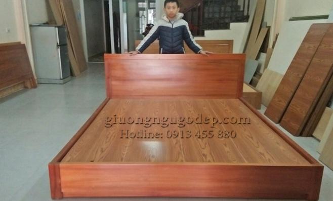 Giường ngủ gỗ - MSP908