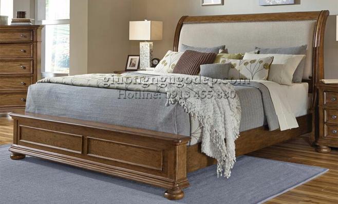 Giường ngủ cổ điển phong cách Châu Âu - GN002