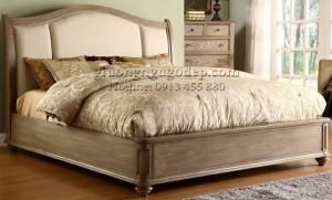 Giường ngủ hoàng gia cổ điển phong cách Châu Âu - GN004
