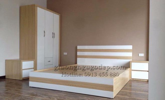 Giường ngủ gỗ công nghiệp - MSP03