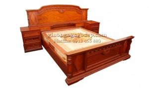 Giường gỗ Hương - MSP006