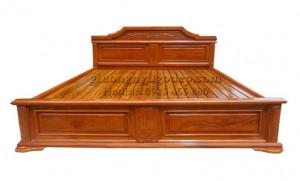 Giường gỗ gụ - MSP007
