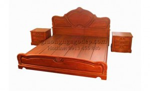 Giường gỗ Hương - MSP004