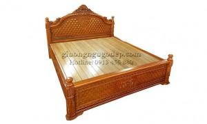 Giường gỗ gụ - MSP009
