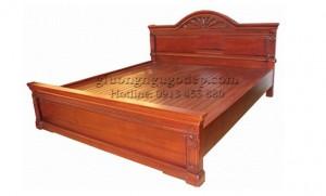 Giường gỗ gụ - MSP008