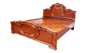Giường gỗ Hương - MSP007