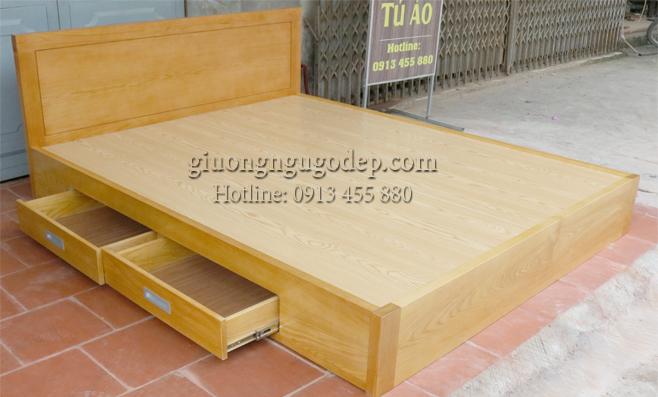 Giường ngủ gỗ - MSP688