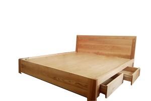 Giường ngủ gỗ ngăn kéo GN68