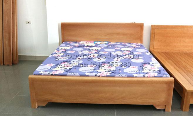 Giường ngủ gỗ Sồi - MSP 288