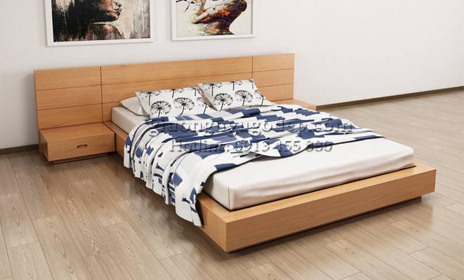 Giường ngủ Nhật - MSP007