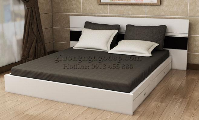 Giường ngủ gỗ công nghiệp - MSP08