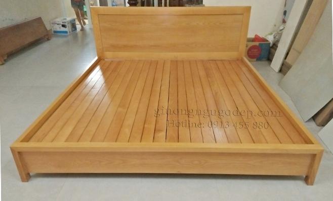 Giường ngủ gỗ - MSP884