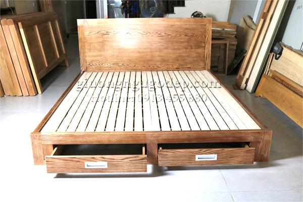 Giường ngủ gỗ - MSP 289